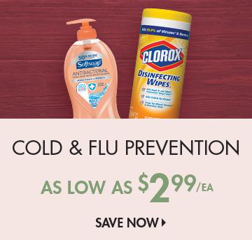 Save on Cold & Flu
