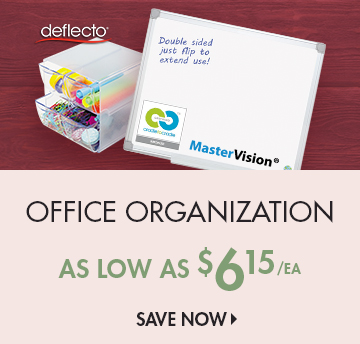 Save on Organizers & Boards