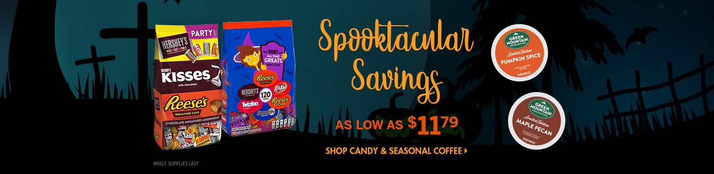 Save on Seasonal Candy and Coffee