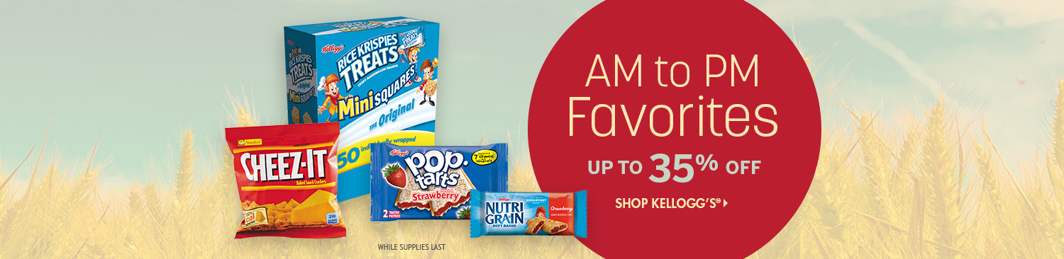 Save on Kelloggs Brand Products