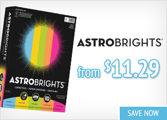 Save on Neehah Astrobrights