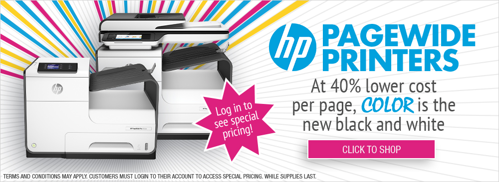Save on HP PageWide Printers