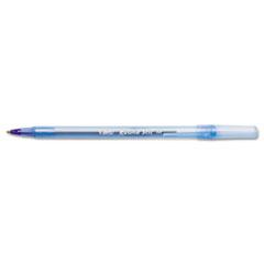 Round Stic Ballpoint Stick Pen, Blue Ink, Medium, DZ