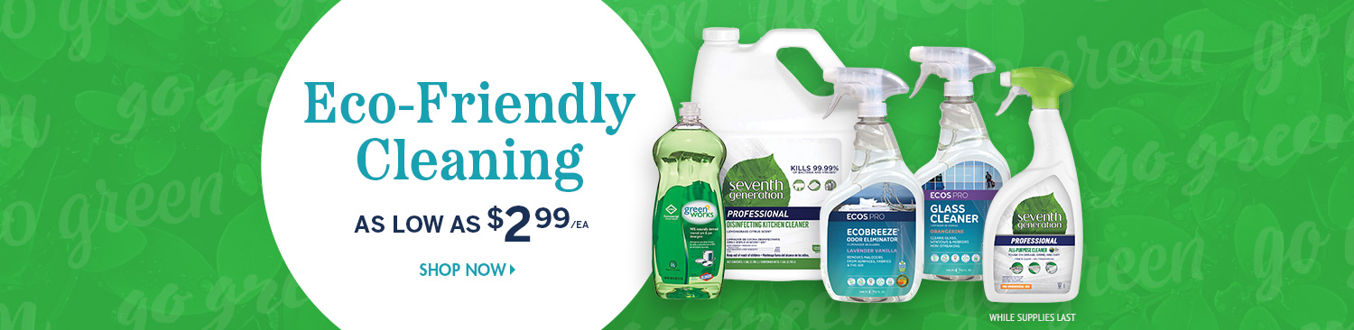 Save on Green Cleaning Supplies