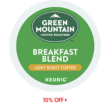 Save on Green Mountain K-Cups