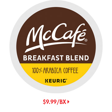 Save on McCafe K-Cups