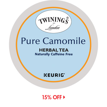 Save on Twinings K-Cups