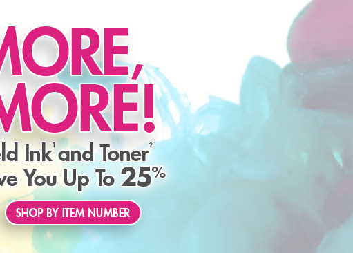 Shop HP Ink and Toner by Item Number
