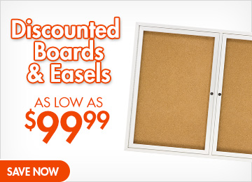 Save on Boards & Easels