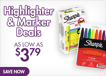 Save on Highlighters & Markers