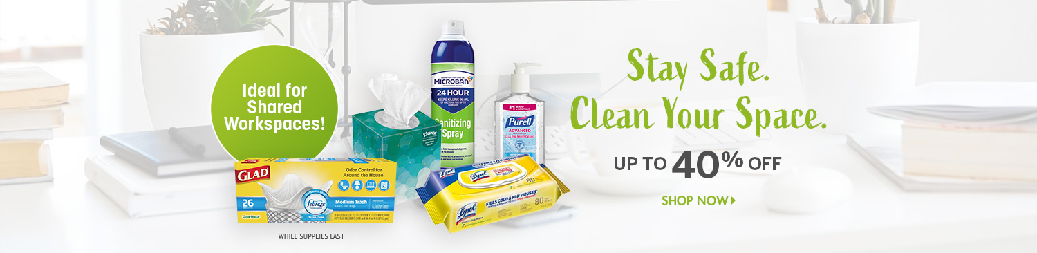 Save on Desk Cleaning Products
