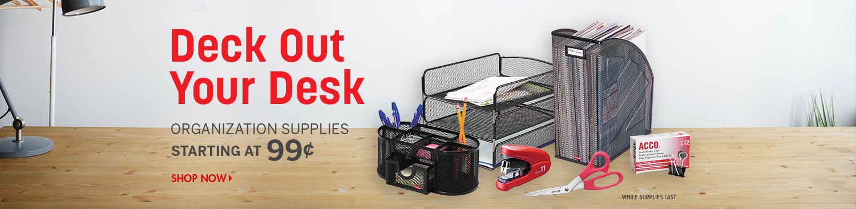 Save on Desk Essentials