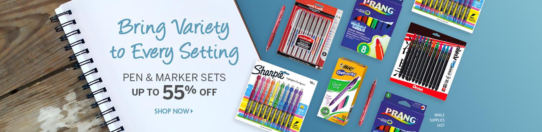 Save on Pen & Marker Sets