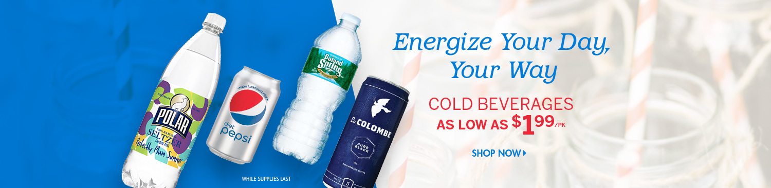 Save on Cold Beverages