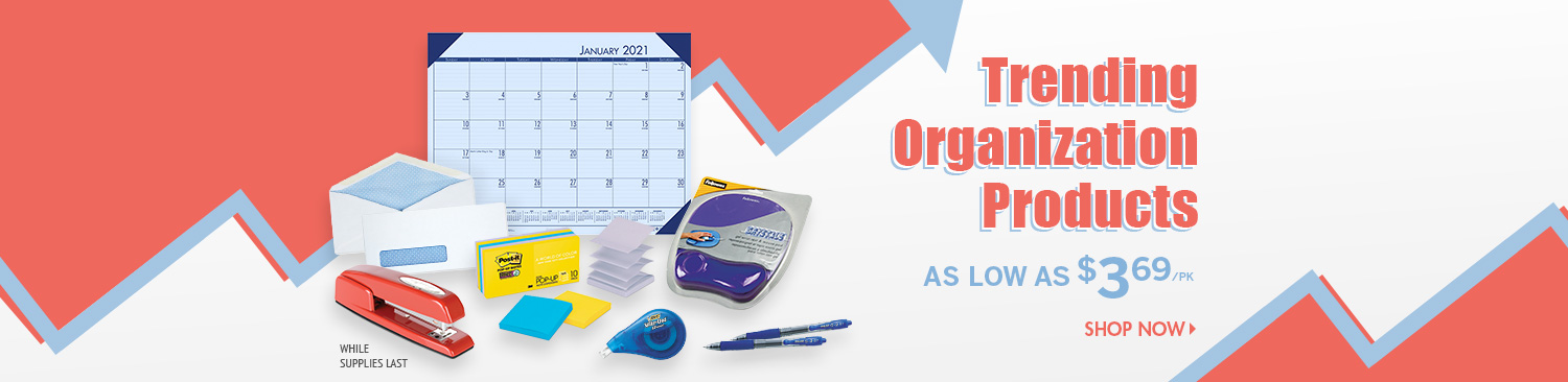 Save on Trending Organization Products