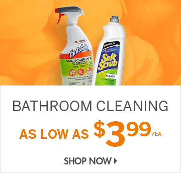 Shop Bathroom Cleaning