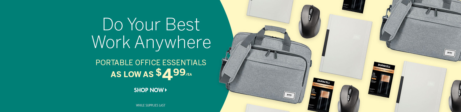 Save on Portable Office Accessories