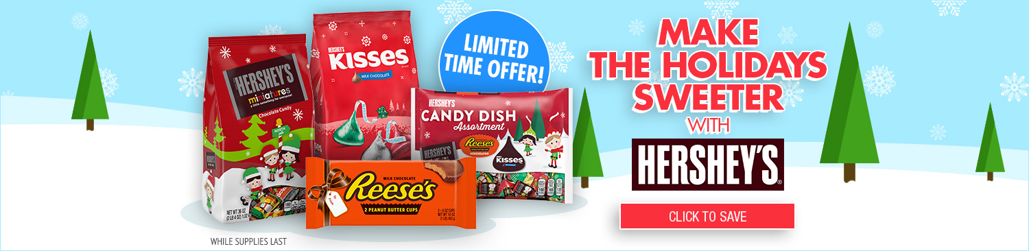 Save on Hershey Products