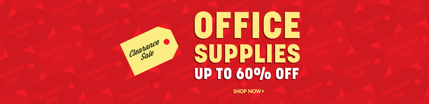 Office Supply Clearance Sale