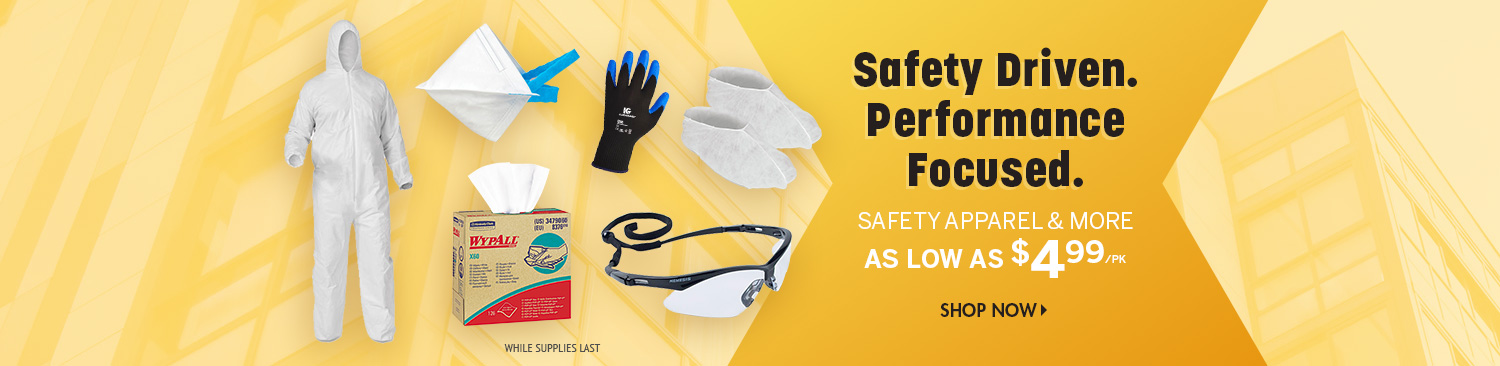 Save on Safety Products