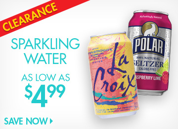 Save on Sparkling Water