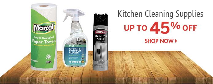 Shop Kitchen Cleaning Supplies