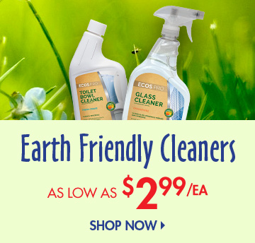 Save on Earth Friendly Cleaners