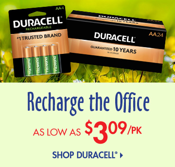 Save on Duracell Batteries