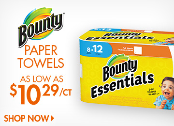 Save on Paper Towels