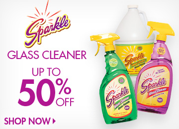 Save on Glass Cleaner