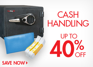 Save on Cash Handling Supplies