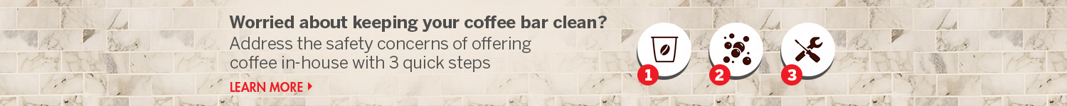 Learn More about Coffee Station Cleanliness