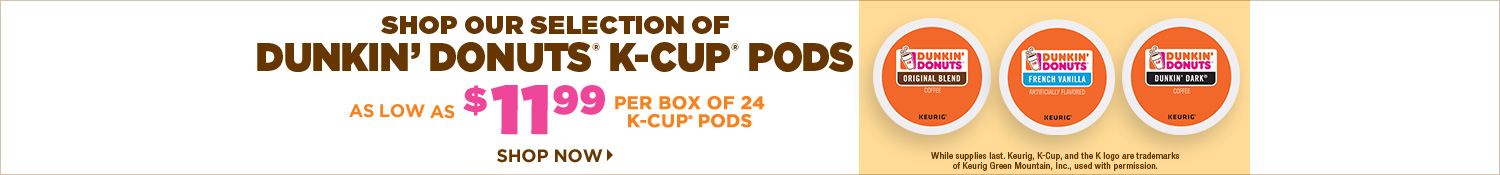 Shop Dunkin' Donuts K-Cup Pods