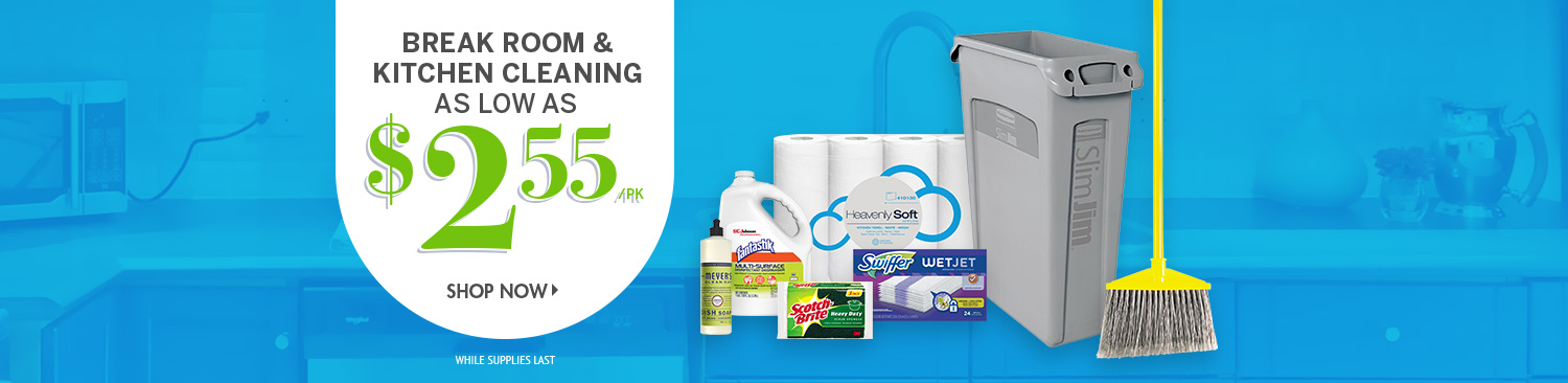 Save on Break Room & Kitchen Cleaning