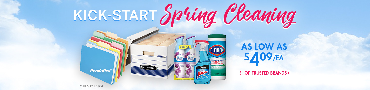 Save on Spring Cleaning Supplies