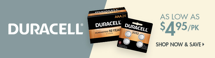 Save on Duracell Products