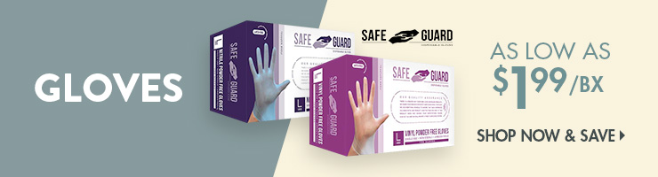 Save on Disposable Gloves