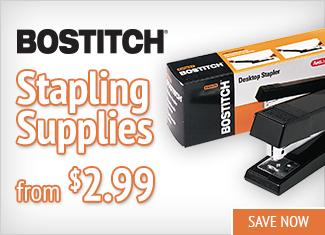 Save on Bostitch Stapling Supplies