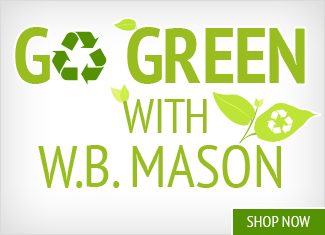 Go Green with W.B. Mason