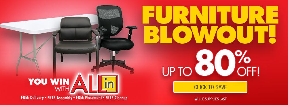 Furniture Blowout