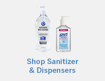 Shop Sanitizer and Dispensers