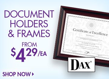 Save on Document Holders