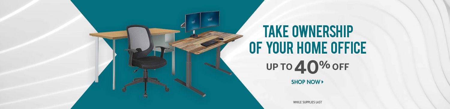 Save on Work From Home Furniture
