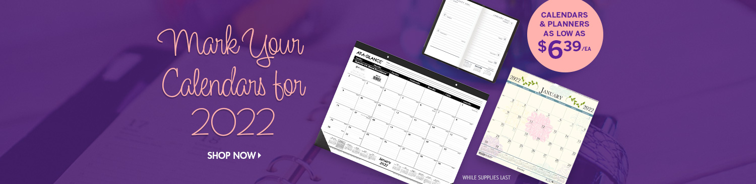 Save on Calendars & Planners