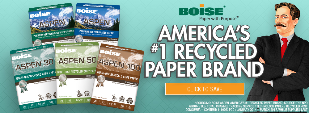 Save on Boise Copy Paper