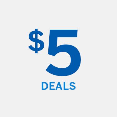 Shop 5 Dollar Deals
