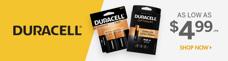 Shop Duracell Products