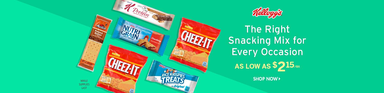 Save on Kellogg's Snacks