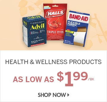 Shop Health & Wellness Products