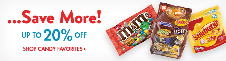 Save on Candy